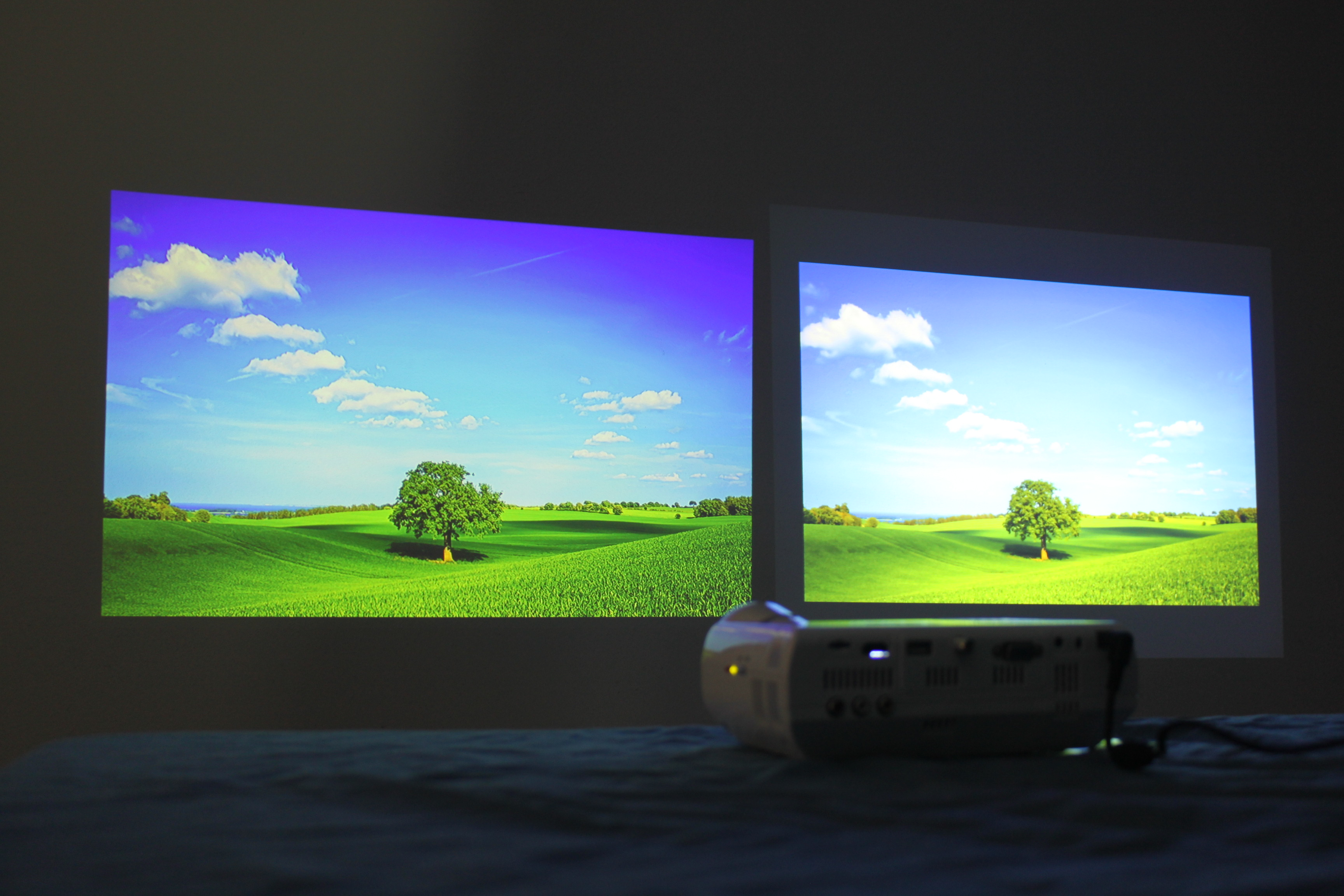 Epson ex3220 and aaxa m4 review we took the epson 3lcd for Compare micro projectors