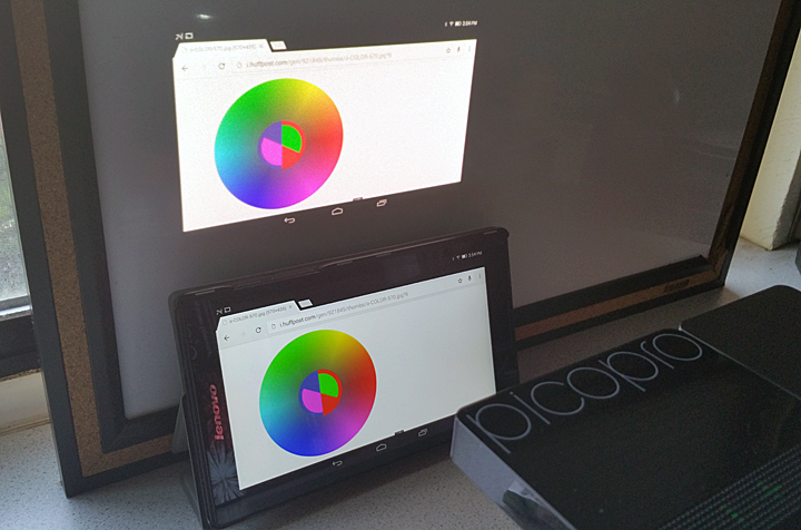Celluon-PicoPro-laser-projector-colors